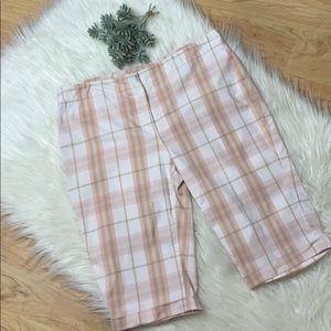 Burberry Pink Nova Bermuda Shorts
